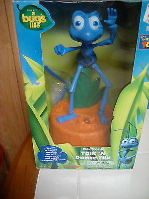 NEW VINTAGE ELECTRONIC Disney Pixar A Bug's Life Talk n Dance Flik VOICE Sound