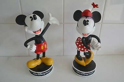 Mickey & Minnie Mouse bobblehead beeldjes
