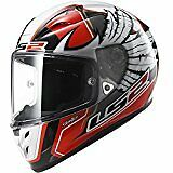 LS2 Helmets Arrow Replica Yonny Hernandez Full Face  Helmet (Red/White/black