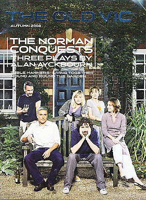 2008 The Norman Conquests Old Vic Theatre Programme b1006