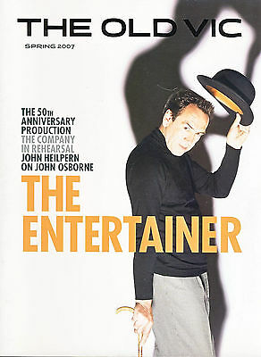2007 THE ENTERTAINER The Old Vic Theatre Programme b1012