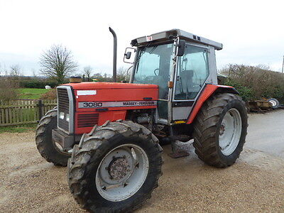Massey Ferguson 3080 4Wd Tractor 40K Air Con 100 Hp Wide Tyres 6 Cylinder Engine