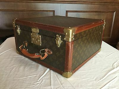 c1920 Louis Vuitton Hat Suitcase Box