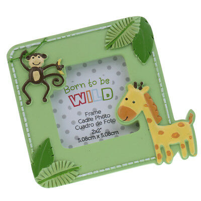 Resin Monkey Giraffe Stand Photo Picture Frame Party Favors Baby Shower