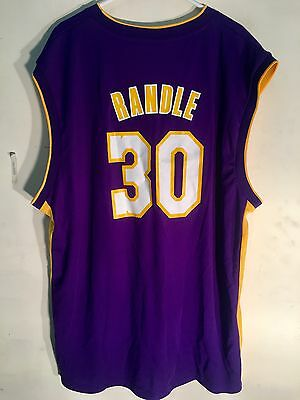 0ce0ad9dfc1 ADIDAS NBA JERSEY Los Angeles Lakers Julius Randle Purple sz 2X ...