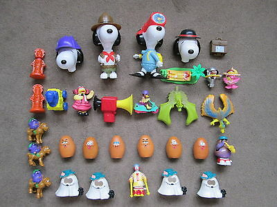 Vintage Mcdonalds Happy Meal Toys Job Lot 2 - Don't Miss Out - Collectable!