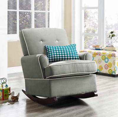 Brand New sealed Nursery Rocking Chair in gray! Baby Relax !!!! SEALED in Box!
