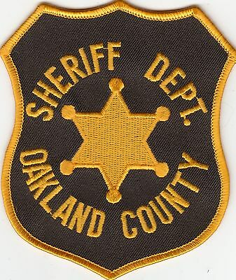 Oakland County Sheriff's Department Patch Michigan Mi