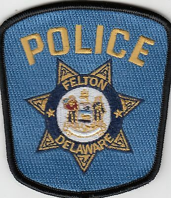Felton Delaware Police Shoulder Patch De