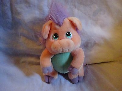 Disney 1985 Wuzzles pig soft toy.