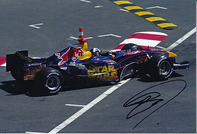 David Coulthard F1 Red Bull autograph - Signed 8X12 Star Wars 2005 Monaco Photo