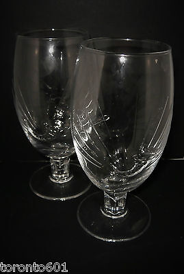 2 x New Original Stella Artois Pint Chalice Glasses