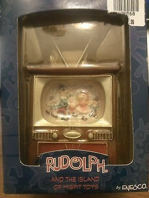 Rudolph and the Island of Misfit Toys Mini Tv Set Ornaments Set