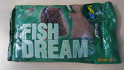 "Groundbait for Fish Carp Сrucian Bream Fishing Bait ""Feeder"" 1kg from Ukraine"
