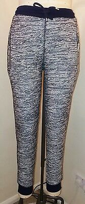 New Topshop Black & White Leisure Pants, Size 12 / 14  UK