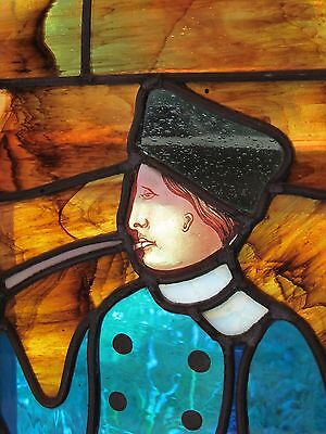 Arts and Crafts Stained Glass Window Liberty Co Henri Cassiers