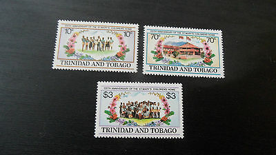 Trinidad & Tobago 1984 Sg 666-668 125Th Anniv Of St Marys Childrens Home Mnh