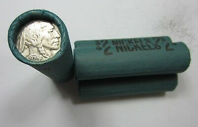 (1) Old Sealed Buffalo Nickel Roll // 40 Coins // Mixed Date/Mint