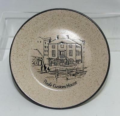 Purbeck Pottery Poole Custom House Pattern Dish 14.5cm Dia made in Stoneware