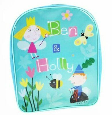 New Children Tv Character Ben & Holly Backpack School Bag