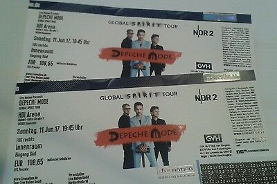 2 Tickets FOS Depeche Mode Hannover 11.06.2017