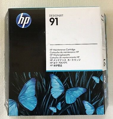 C9518A HP 91 Maintenance Cartridge for DESIGNJET Z6100 Exp 12/2014 Never Opened