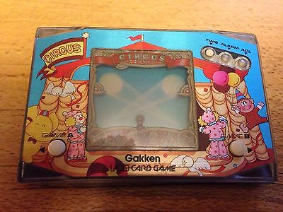 Gakken 1980`s Circus Trapeze LCD Game game And Watch Style