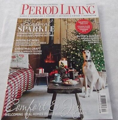 Period Living homes/ house/lifestyle/magazine, December 2014