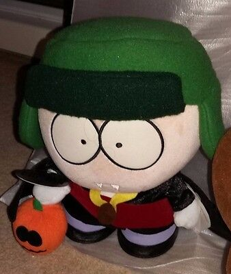 """South Park Limited Edition HALLOWEEN Kyle 9"""" Soft Plush Toy Comedy Central RARE"""