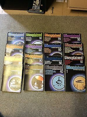 THE UNEXPLAINED MYSTERIES OF MIND SPACE & TIME MAGAZINE *COMPLETE collection Set