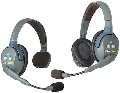 Eartec UL2SD | UltraLITE 2 Person System with 1 Single 1 Double Headset