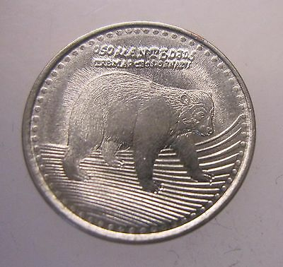 2015 Colombia 50 Peso Coin - Bear