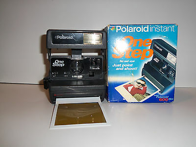 Vintage Polaroid One Step Instant Camera Tested Working