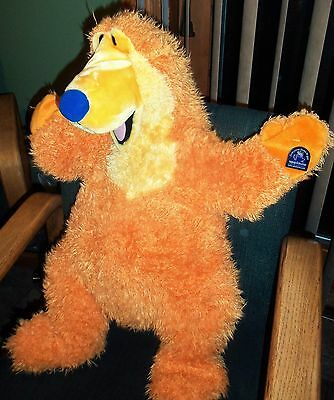 "1999 Applause 24"" Disney BEAR IN THE BIG BLUE HOUSE Jumbo  Plush Toy Puppet"