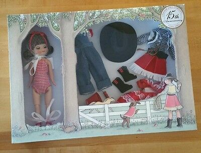"""Tonner 8"""" Tiny Betsy Mccall Round Up Gift Set NRFB! Tonner Doll 15th Anniversary"""