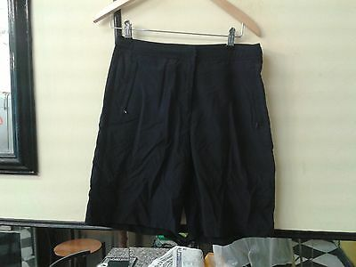 MAINE Golf Ladies Nylon Shorts Trousers Navy Size 12  30""