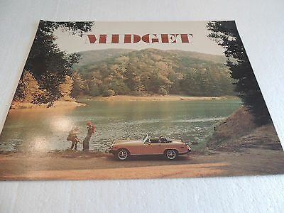 1976 MG , Midget  Catalogue Brochure USA Mkt. Scarce