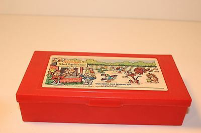 Kellogs Pencil Box Vintage Keebler Elves Tony Tiger Toucan Sam Dig'em Tusk Poppy
