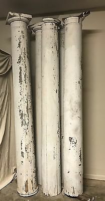 Early 1900 Heavy Wood Column Vintage Architectural Salvage