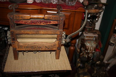 Antique American Wringer Company Clothes Wringer-New York-Country Decor-American