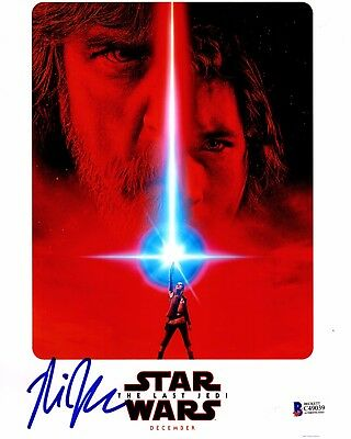 Rian Johnson Signed Star Wars The Last Jedi Director 8X10 Photo Autograph Bas