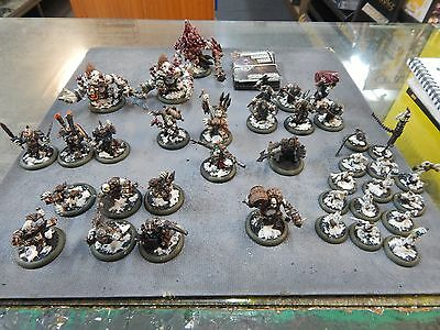 Warmachine Hordes - TROLLBLOODS  - painted to a very nice standard