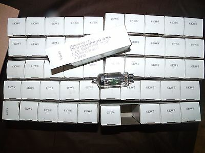 50 (Fifty) Pieces Nos Nib Jan 6Ew6 Philips Ecg Matched Tubes Direct Subs 6Jk6