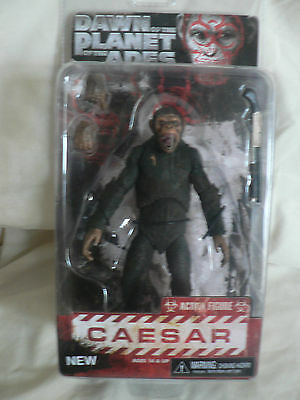 DAWN OF THE PLANET OF THE APES Series 2 - CAESAR - Action Figure NEW
