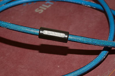 SILTECH SPX-30 CLASSIC mk2 (SATT) SILVER/GOLD 1.8M POWER  mains LEAD  CABLE
