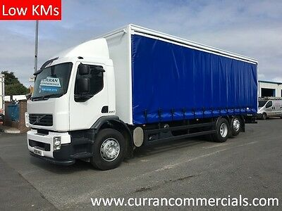 09 Volvo FE280 6x2 26Ton 28ft Curtainsider With Barn Doors
