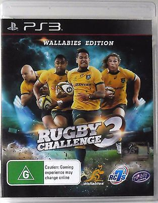 Rugby Challenge 3 Wallabies Edition PS3 Sony Playstion 3