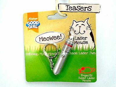 Good Girl Laser Mouse Cat Kitten Teasers Toy Projects Laser Mouse Fun Play Toy