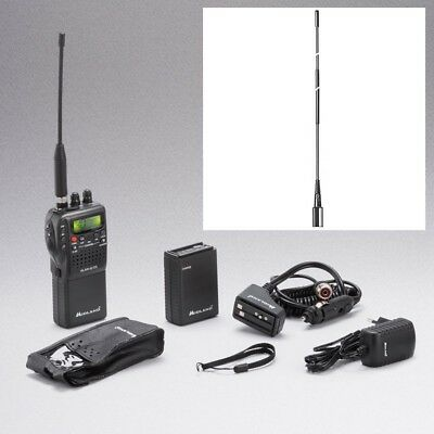SET CB HAND FUNK ALAN 42 SET & Hyflex Antenne 54 cm ALAN42 4WATT AM/FM