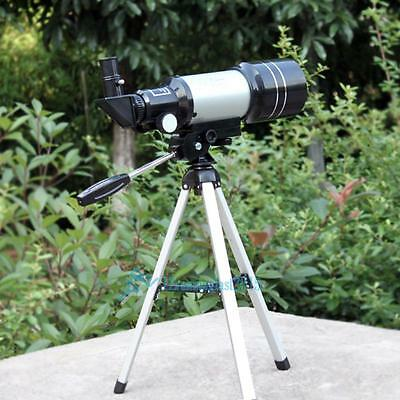 150x telescopio astronómico refractivo (300/70 mm) Espacio monocular Scope NEW!